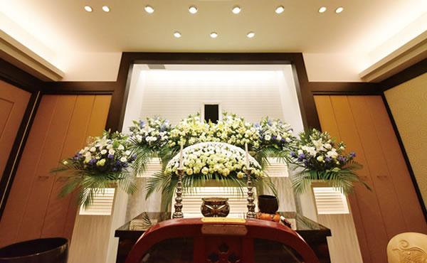 式場ホール(祭壇)