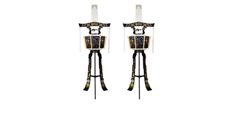 回転灯篭(大) 110cm - 1対 - 18,000円(+税)